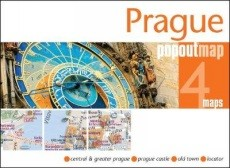 Prága - várostérkép, popout