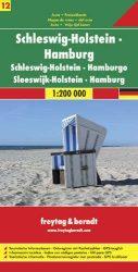 Németország 12 Schleswig–Holstein - Hamburg, 1:200 000