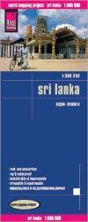 Sri Lanka térkép - Reise