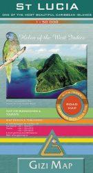 St. Lucia térkép