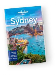 Sydney city guide Lonely Planet útikönyv