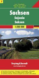 Németország 7 Szászország, 1:200 000