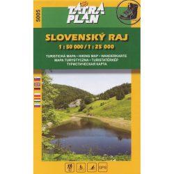 Szlovák Paradicsom - Slovensky Raj - túristatérkép TM 2005