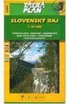 Szlovák Paradicsom - Slovensky Raj - túristatérkép TM 2504