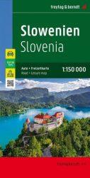 Szlovénia autóstérkép - részletes