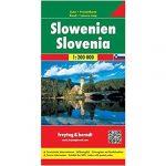 Szlovénia autóstérkép