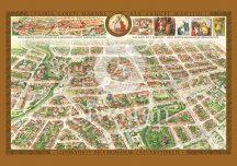 Szombathely belvárosa látványtérképen
