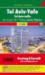Tel Aviv - Jaffa City Pocket térkép