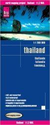 Thaiföld térkép