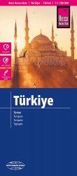 Törökország autótérkép Ciprus melléktérképpel