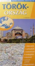 Törökország  - hajtogatott autótérkép - 2007