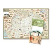 Várak a történelmi Magyarországon - látványtérkép