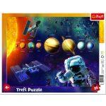 Naprendszer - 25 darabos keretes puzzle
