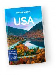 USA travel guide Lonely Planet útikönyv