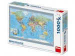 Világtérkép 1000 darabos puzzle