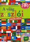 A világ zászlói matricákkal -  Képes atlasz gyermekeknek