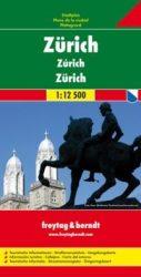 Zürich térkép