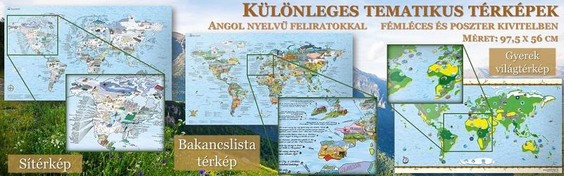 Különleges tematikus térképek